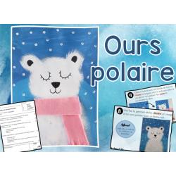 Ours polaire - arts et bricolage