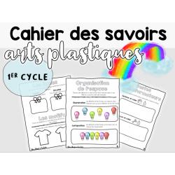 Cahier des savoirs en arts plastiques - 1er cycle