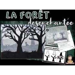 La forêt désenchantée - arts et bricolage