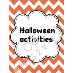Cahier d'activités anglais Halloween