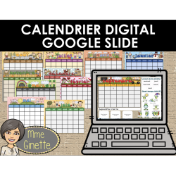 CALENDRIER DIGITAL (GOOGLE SLIDES)