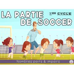 Une partie de soccer