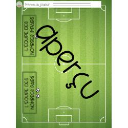Exercices- Une partie de soccer