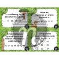 Cartes à tâches - safari - sens du nombre