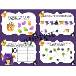 Cartes à tâche Halloween 1er cycle