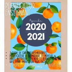 Planificateur enseignant 2020-2021