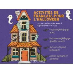 Activités de français Halloween