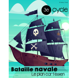 Bataille navale - Le plan cartésien 3e cycle