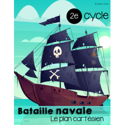 Bataille navale - Le plan cartésien 2e cycle