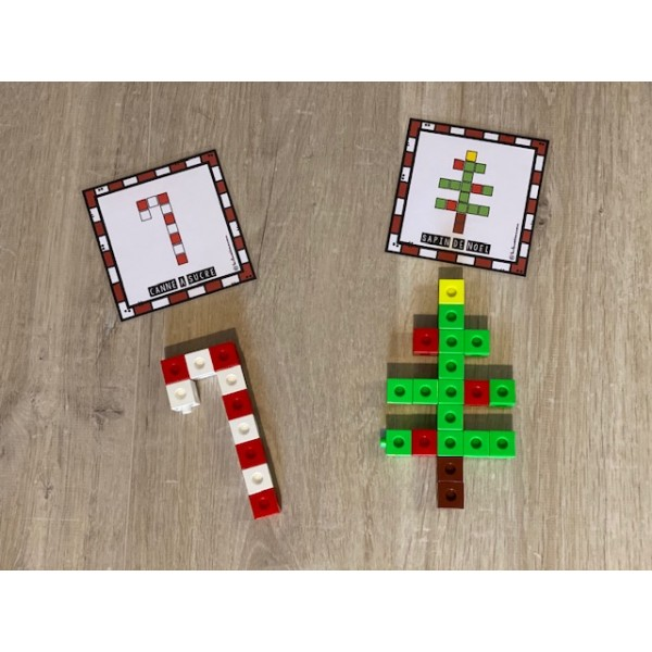 Cubes emboîtables de Noël