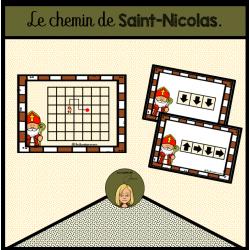Le chemin de Saint Nicolas