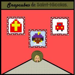 Cubes emboîtables de Saint Nicolas