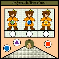 Les formes de Maman Ours