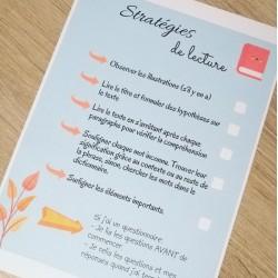Check-list stratégies de lecture