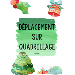 Bundle Déplacement sur quadrillage Noel