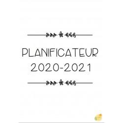 Planificateur B&W sans date (économique!)