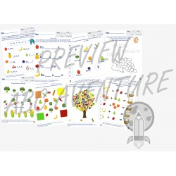 FRUITS ET LÉGUMES (pack fr/math)