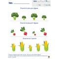 FRUITS ET LÉGUMES (pack fr/math)