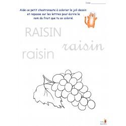 Fruits et Légumes (Math/Francais)
