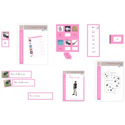 Série Rose : Le kit complet CURSIF