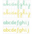 Série verte : Alphabet mobile Montessori