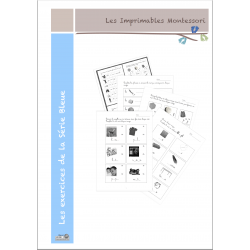 Série Bleue : Le cahier d'exercices CURSIF