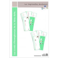 Série Verte : Les livrets d'homophonies CURSIF