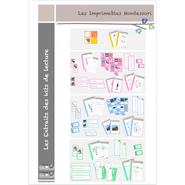Méthode de lecture Montessori : Extraits