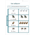 Orthographe Montessori 4-5 ans: Cahier d'exercices