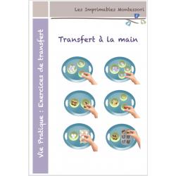 Vie Pratique Montessori : transfert à la main