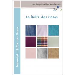 Sensoriel Montessori : La boîte des tissus