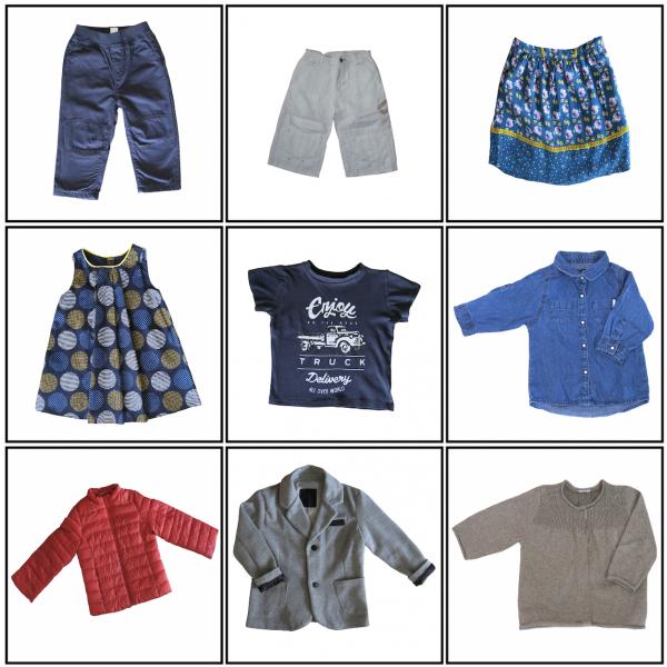 Cartes de Nomenclature Montessori : Les Vêtements