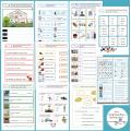 Grammaire Montessori 5-7 ans : Les Exercices