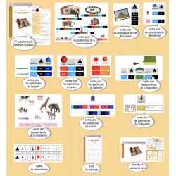 Expériences de Grammaire Montessori 4-6 ans CURSIF