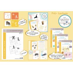 Pré-Lecture Montessori : Le kit CURSIF