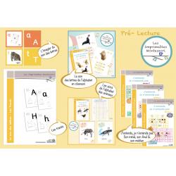 Pré-Lecture Montessori : Le kit SCRIPT