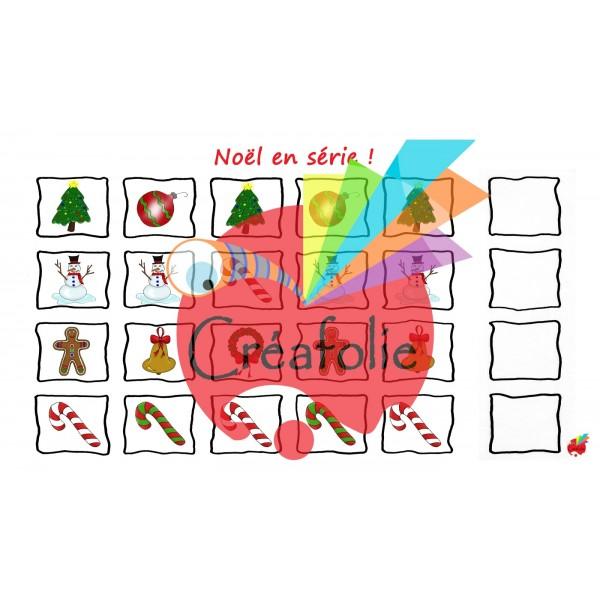 Atelier : suite logique de Noël