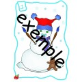 Atelier : Bonhomme de neige