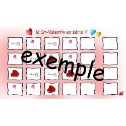 La St-Valentin en série :)