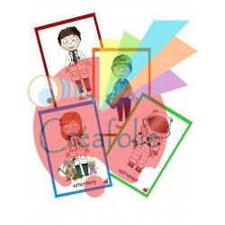 profession cards