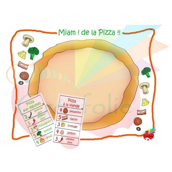 Miam ! De la pizza