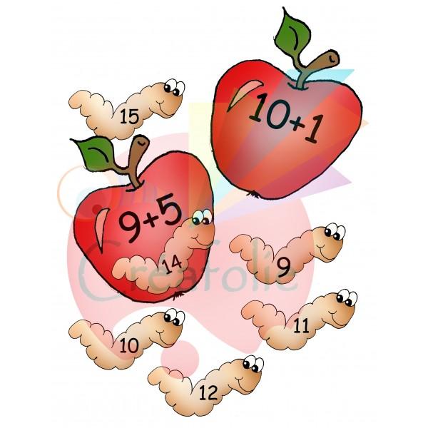 Additions dans les pommes