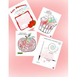 Cahier d'activités Les Pommes