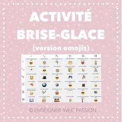 Activité brise-glace (version emojis)