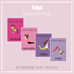 Affiches - Yoga
