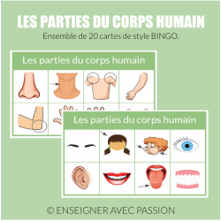 Corps humain - Bingo