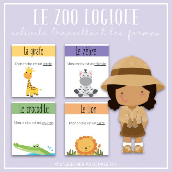 Le Zoo Logique 1 (figures planes)