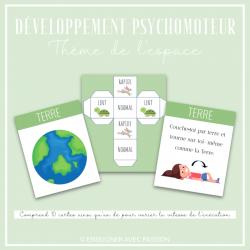 Cartes de développement psychomoteur