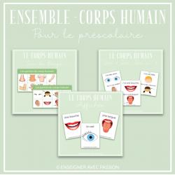 Ensemble - Corps humain (3 achats en 1)
