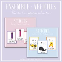 Ensemble - Affiches (2 achats en 1)